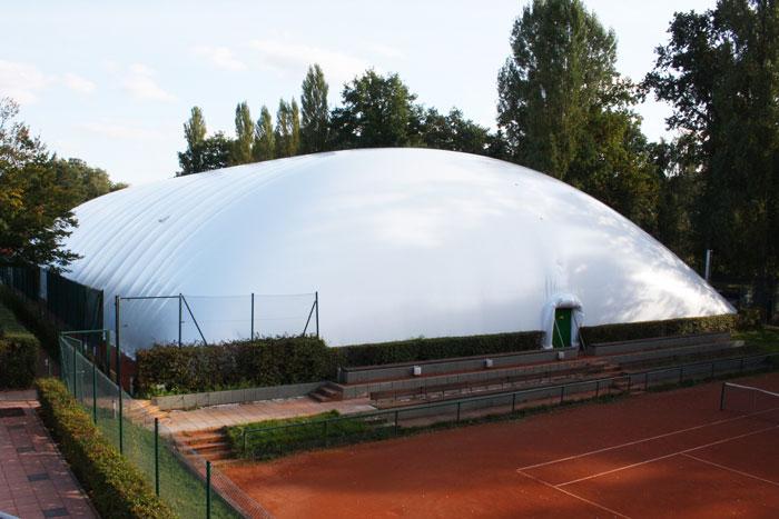 4-Feld-Traglufthalle Baujahr 2012/2013